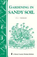 Gardening in Sandy Soil
