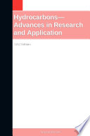 Hydrocarbons   Advances in Research and Application  2012 Edition Book