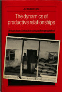 The Dynamics of Productive Relationships