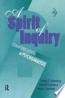 A Spirit Of Inquiry Book PDF