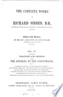 The complete works of Richard Sibbes, ed. with mem. by A.B. Grosart