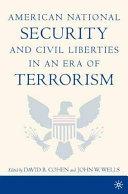 American National Security and Civil Liberties in an Era of Terrorism Pdf/ePub eBook