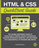 HTML   CSS QuickStart Guide