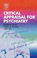 Critical Appraisal for Psychiatry