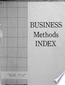 Business Methods Index