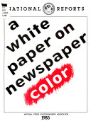 A White Paper on Newspaper Color Book