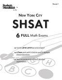 Shsat Practice Math Tests