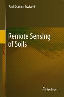 Remote Sensing of Soils