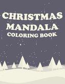 Christmas MANDALA Coloring Book