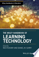 Wiley Handbook of Learning Technology Book