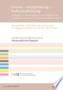 Öffnen Sie das Medium Emotion - Disziplinierung - Professionalisierung von Rauh, Bernhard [Herausgeber] im Bibliothekskatalog