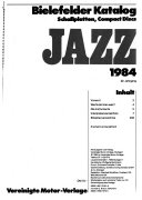 Bielefelder Katalog Jazz Book