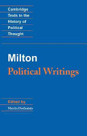 Milton  Political Writings