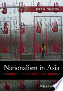 Nationalism in Asia Book