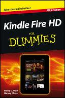 Pdf Kindle Fire HD For Dummies