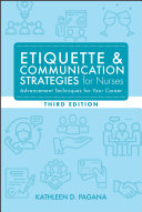 Etiquette   Communication Strategies for Nurses  Third Edition