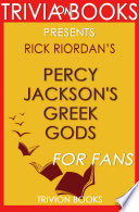 Percy Jackson s Greek Gods  A Novel by Rick Riordan  Trivia On Books  Book