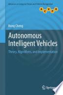 Autonomous Intelligent Vehicles Book