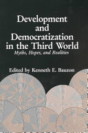 Development and Democratization in the Third World