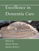 Excellence In Dementia Care Research Into Practice