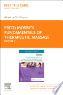 Mosby S Fundamentals Of Therapeutic Massage E Book Book PDF