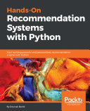 Hands-On Recommendation Systems with Python [Pdf/ePub] eBook