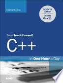 Cover of Sams Teach Yourself C++ in One Hour a Day