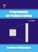 Programming for Problem Solving