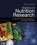 Analysis in Nutrition Research [Pdf/ePub] eBook