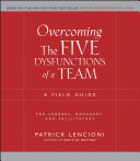 Overcoming the Five Dysfunctions of a Team [Pdf/ePub] eBook