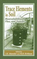 Trace Elements in Soil