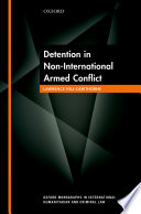 Detention in Non International Armed Conflict
