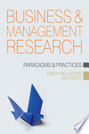 Business and Management Research Book