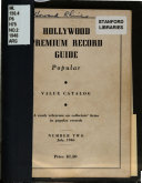 Hollywood Premium Record Guide Book PDF