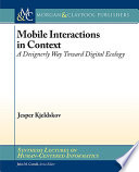 Mobile Interactions In Context Book PDF