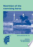 Nutrition of the exercising horse