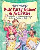 Kids Party Games And Activities