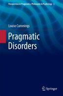 Pragmatic Disorders