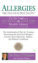 Allergies: Fight Them with the Blood Type Diet ebook