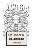 Pantera Adult Coloring Book