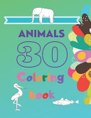 30 Animals Coloring Book