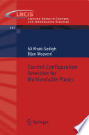 Control Configuration Selection for Multivariable Plants