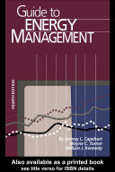 Guide to Energy Management  Fourth Edition