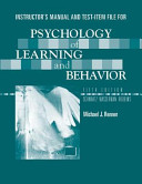 Psychology of Learning and Behavior