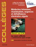 Médecine Intensive, réanimation, urgences et défaillances viscérales aiguës