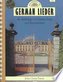 Gateway to German lieder  : an anthology of German song and interpretation