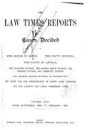 The Law Times Reports ebook