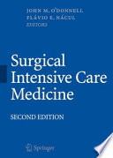 Surgical Intensive Care Medicine Book
