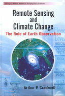 Remote Sensing and Climate Change