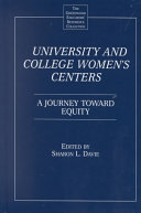 University And College Women S Centers Book PDF